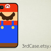 Case iPhone 4 Case iPhone 4s Case iPhone 5 Case game mario nintendo  parody