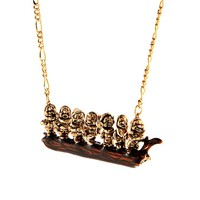 Seven Dwarves Necklace from W A N D E R L U S T I N Y