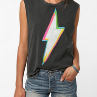 Urban Outfitters - Truly Madly Deeply Studded Bolt Tank Top