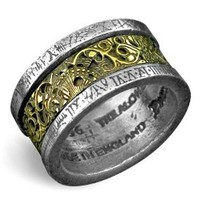 Dr. von Rosenstein's Induction Principle Alchemy Gothic Ring: Jewelry: Amazon.com