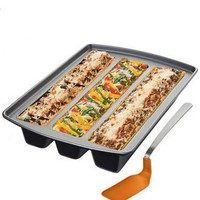Chicago Metallic Lasagna Trio Pan - Bakeware - Kitchen - Macy's