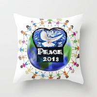 New Attitude 2013 Throw Pillow by TecaBurq | Society6