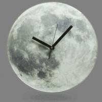 Light Up Moon Clock
