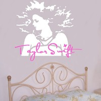 Taylor Swift Country Girl Silhouette Wall by greatwallsoffire