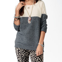 Colorblocked Raglan Sweater | FOREVER 21 - 2025100616