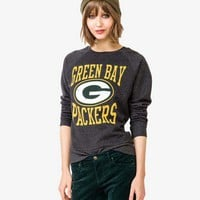 Green Bay Packers Logo Pullover | FOREVER 21 - 2023503827