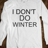 I don't do winter - The Kay Designs