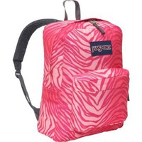 Amazon.com: JanSport Superbreak Backpack (Pink Prep/Coral Sparkle Flashback Zebra): Sports & Outdoors