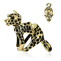 Cute Leopard Ring