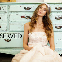 Reserved for Sarah  Vintage Wedding Dress Remnant by whitetruffle