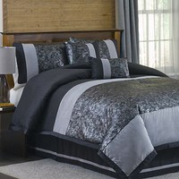 Lush Decor Metallic Animal 6-pc. Comforter Set