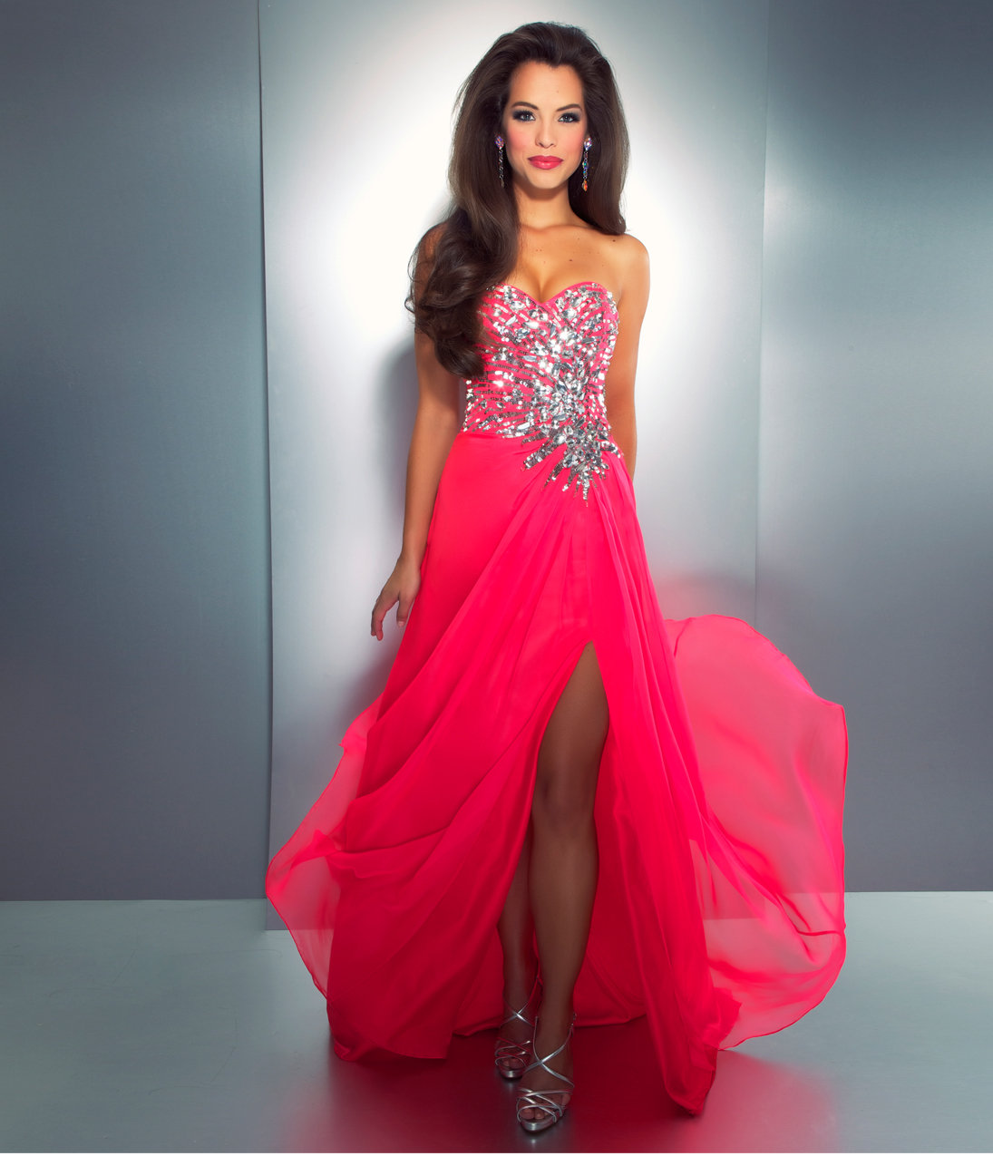 Related Keywords & Suggestions for Neon Pink Prom Dresses 2014