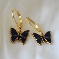 Butterfly Earrings by janiecox on Etsy