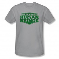 Community Greendale Human Beings Logo T-Shirt | Community | NBC