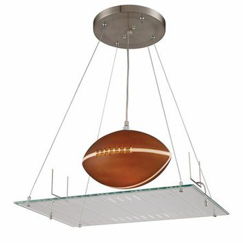 Football Field Pendant, Ceiling Fixtures, Lighting for Boys
