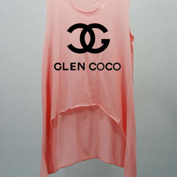 Glen coco pink t shirts tank top tunic from cafetshirt on etsy for Silk screen tee shirts online