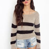 Gina Stripe Knit  in  What&#x27;s New at Nasty Gal
