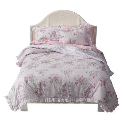 Simply shabby chic misty rose comforter from target bedroom Simply shabby chic bedroom furniture