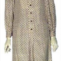 Vintage 1970s Adele Simpson Designer Dress