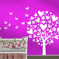 Vinyl Wall Decals Wall Sticker Tree decals Baby by walldecals001