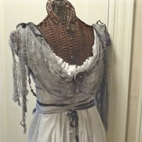 Ghost of Christmas Past Dress Size L
