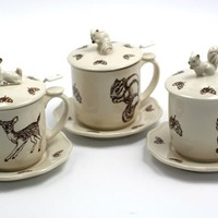 Woodland Tea Mugs