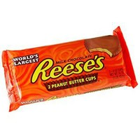 Reese's Holiday Giant Peanut Butter Cups, 1-Pound Package