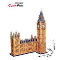 CUBICFUN Intellectual Development DIY 3D Paper Puzzle Set - Big Ben - &amp;#36;43.68