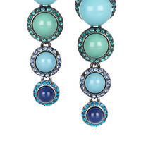 Lanvin | Swarovski crystal clip earrings | NET-A-PORTER.COM