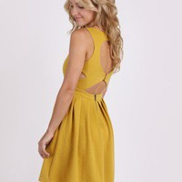 Mustard Seed Knit Dress by Sophie & Kate @ FrockCandy.com