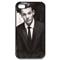 Amazon.com: Diy Case Louis Tomlinson Iphone 4/4S Case Hard Case Fits Sprint, T-mobile, AT&T and Verizon IPhone 4s Case 101709: Cell Phones & Accessories