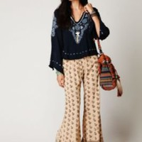 Free People FP ONE Palace Block Printed Pant at Free People Clothing Boutique