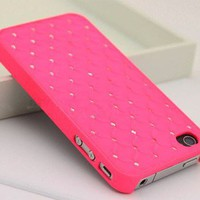 Starry Sky Rhinestone Case for iPhone 4 4S from looback