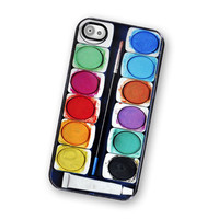 Watercolor Paint IPhone Hard Case, .. on Luulla