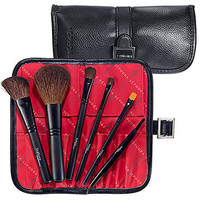 Sephora: Two Tone Portfolio Brush Set   : brush-sets-makeup-brushes-applicators-tools-accessories