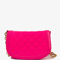 Quilted Patent Crossbody | FOREVER 21 - 1021168961