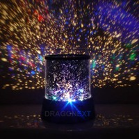 Star Master Colorful Starry Night Cosmos Projector Bed Side Lamp