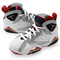 Amazon.com: Nike Air Jordan 7 Retro (PS) Boys Basketball Shoes 304773-135: Shoes