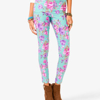 Floral Skinnies