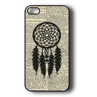 Amazon.com: iPhone 5 Case - Hardshell Protective iPhone 5 Case - Dreamcatcher On Dictionary: Cell Phones & Accessories