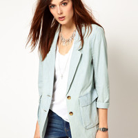 Levi's Soft Chambray Blazer