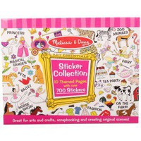 Melissa  Doug Girls sticker collection | Alexandalexa