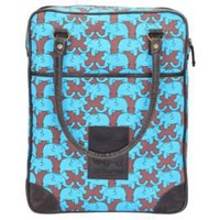 One Kings Lane - Travel Essentials - ZH Collection Blue Elephant Day Bag