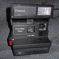 Polaroid One Step Flash Vintage Camera
