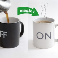 Fantastic Magical ON /OFF Color Changing Hot Cold Heat Sensitive Mug Ceramic Cup