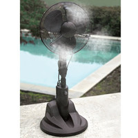 The Evaporative Misting Fan - Hammacher Schlemmer