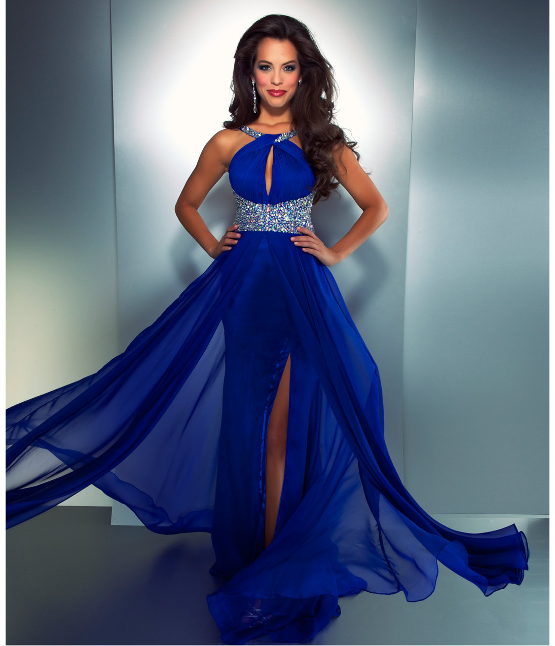 Electric Blue Evening Dresses 11