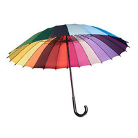 Karma Kiss: Colorwheel Umbrella, at 28% off!