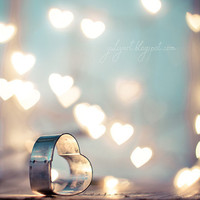Love Spell - glamor romantic valentine home decor gift fine art photo heart woman cupid love Erotic amour heart passion blue mint grey aqua