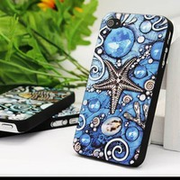 Grace Embossed Star of the Ocean Case For Iphone 4/4s